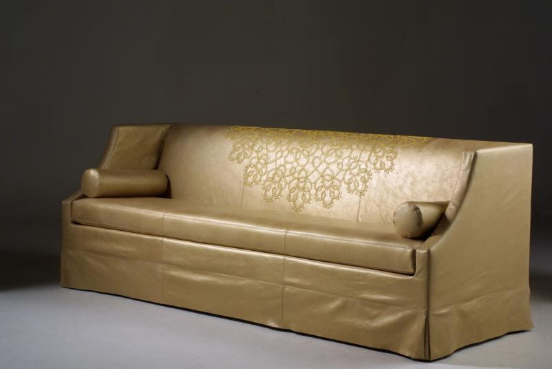 Sofa for the Crystal Room in Moscow